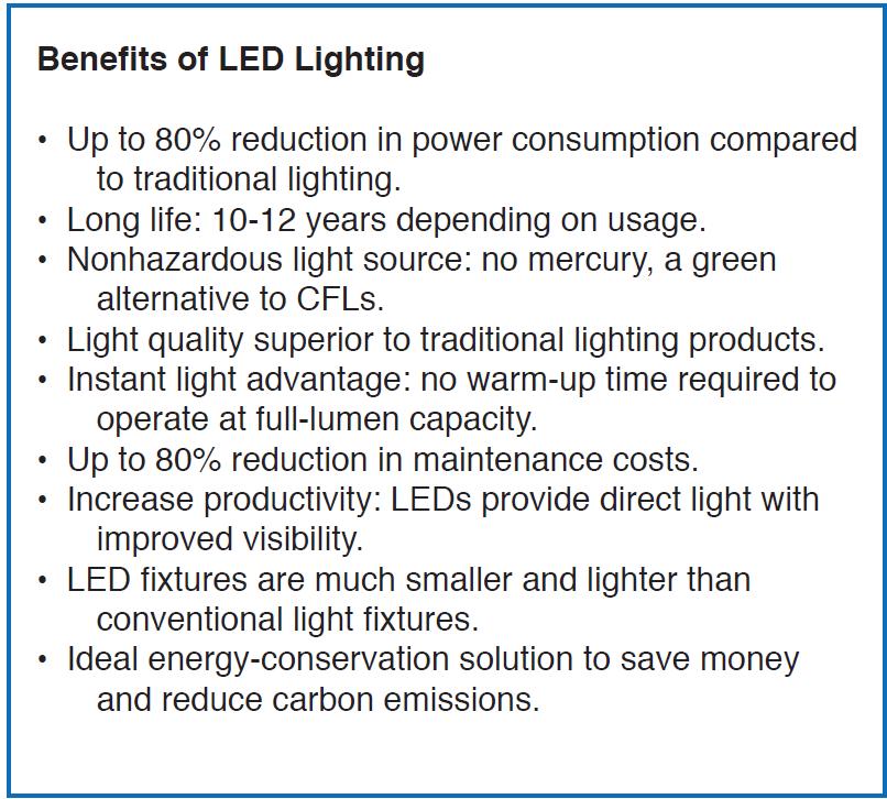 Operations Corner  sc 1 st  Energy Dynamics & LED Lighting Upgrades: A Real Success Story azcodes.com